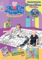 Świnka Peppa Edycja limitowana 2/2016 KOLOROWANKA 139 x 98 cm + kredki Peppy