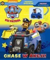 Psi Patrol Pojazdy specjalne 1 Chase w akcji! + samochód policyjny