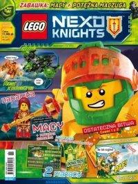 LEGO Nexo Knights magazyn 8/2018 + Macy+ potężna maczuga