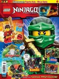 LEGO Ninjago magazyn 3/2017 + KAI z mieczem i ognistą piłą