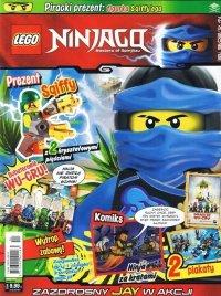 LEGO Ninjago magazyn 4/2016 + pirat SQIFFY + karta Ninjago TCG