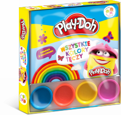 Play-Doh Wśród przyjaciół Wszystkie kolory tęczy