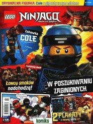 LEGO Ninjago magazyn 7/2018 + Cole z gigantycznym młotem