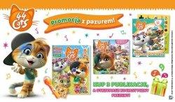 44 koty promocyjny zestaw z kocimi prezentami