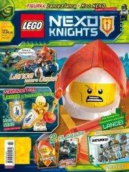 LEGO Nexo Knights magazyn 5/2018 + Lance z lancą
