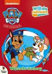 Psi Patrol Wodą malowane 3 Wesołe kolory
