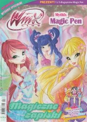 Winx Club Wydanie specjalnie 1/2016 + Mythix długopis Magic Pen