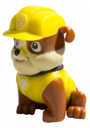 Psi Patrol Witaj w klubie 4 Rubble i przyjaciele (z figurką)