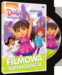 Filmowa Superkolekcja Dora poznaje świat Słodki biwak DVD