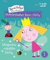 Małe królestwo Bena i Holly 1 Magiczna różdżka Holly (z naklejkami)
