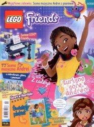 LEGO Friends magazyn 9/2018 + Scena muzyczna Andrei z pianinem