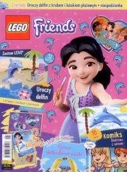 Lego Friends Wydanie specjalne 1/2018 Uroczy delfin z krabem i leżakiem plażowym + niespodzianka