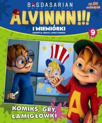 Alvin i wiewiórki 9 (z naklejkami)