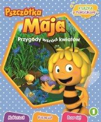 Pszczółka Maja Przygody wśród kwiatów 1 książka z naklejkami
