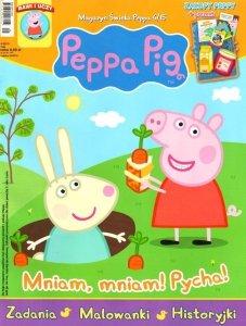 Świnka Peppa magazyn 4/2015 Mniam, mniam! Pycha! + zakupy Peppy