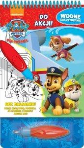Psi Patrol Wodne kolorowanie 1 Do akcji!