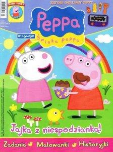 Świnka Peppa magazyn 03/2014 + zestaw grillowy Peppy