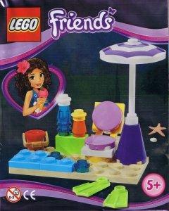 LEGO Friends magazyn 2/2014 + zestaw plażowy