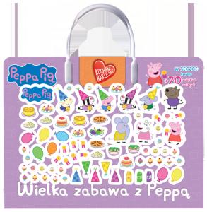 Świnka Peppa Kocham naklejać 2 Wielka zabawa z Peppą