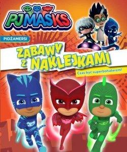 Pidżamersi Zabawy z naklejkami 1 Czas być superbohaterem!