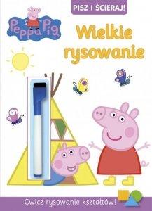 Świnka Peppa Pisz i ścieraj! 5 Wielkie rysowanie