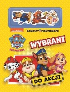Psi Patrol Zabawy z magnesami 1 Wybrani do akcji