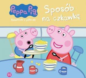 Świnka Peppa Książeczki z półeczki 55 Sposób na czkawkę