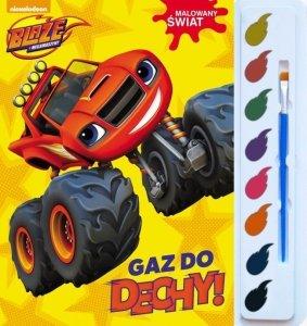 Blaze i megamaszyny Malowany świat Gaz do dechy (z farbkami)