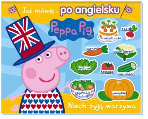 Świnka Peppa Już mówię… 2 po angielsku Niech żyją warzywa!
