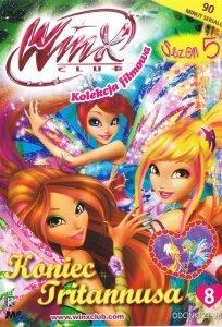 Winx Club Kolekcja filmowa seria 5 cz.8 Koniec Tritannusa (DVD)