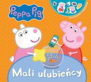 Świnka Peppa Opowiadania z naklejkami 2 Mali podopieczni
