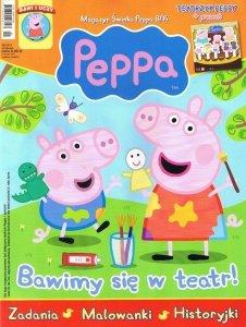 Świnka Peppa magazyn 08/2014 + TEATRZYK PEPPY