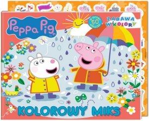 Świnka Peppa Zabawa w kolory 4 Kolorowy miks