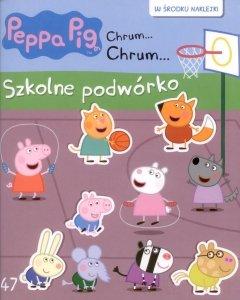 Świnka Peppa Chrum… Chrum… 47 Szkolne podwórko