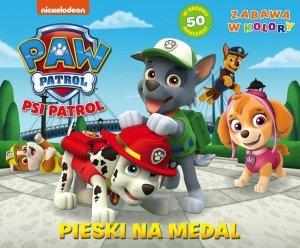 Psi Patrol Zabawa w kolory 1 Pieski na medal