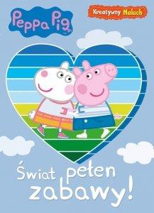 Świnka Peppa Kreatywny maluch 1 Świat pełen zabawy!