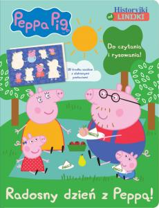 Świnka Peppa Historyjki od linijki 1 Radosny dzień z Peppą!