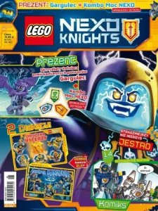 LEGO Nexo Knights magazyn 5/2017 + Gargulec