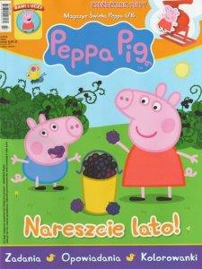 Świnka Peppa magazyn 6/2016 Nareszcie lato! + Zjeżdżalnia Peppy