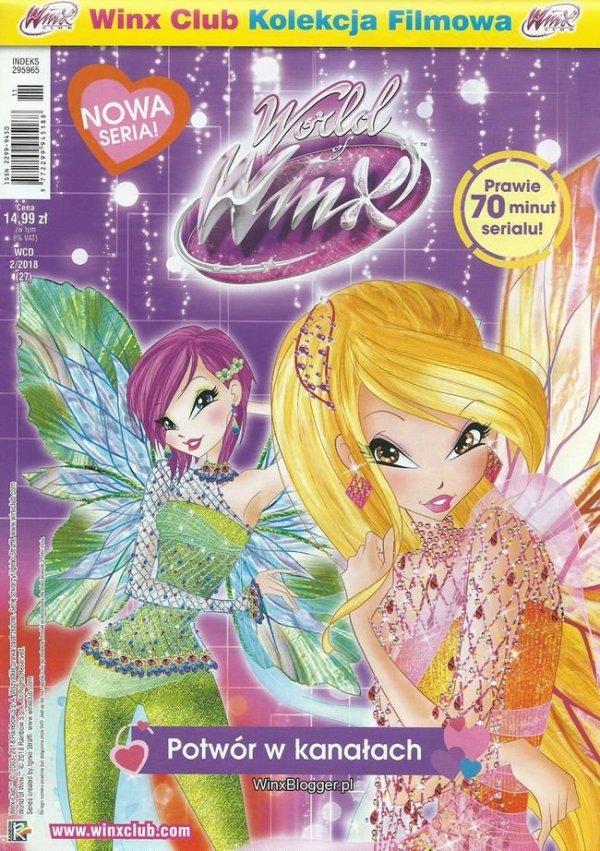 Świat Winx Club World of Winx Kolekcja filmowa 2 Potwór w kanałach (DVD)