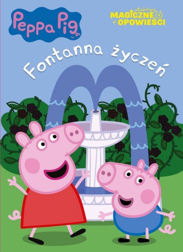 Świnka Peppa Magiczne opowieści Fontanna życzeń