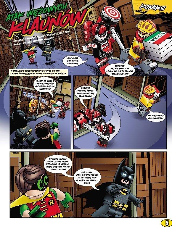 LEGO Batman Movie nr 4 komiks