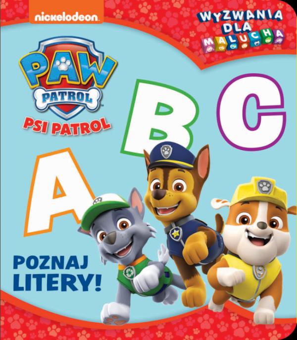 Psi Patrol Wyzwania dla malucha 2 Poznaj litery!