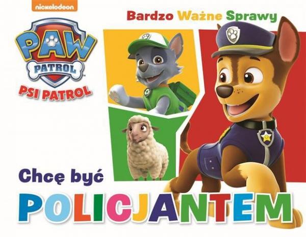 Psi Patrol Bardzo Ważne Sprawy 2 Chcę być policjantem