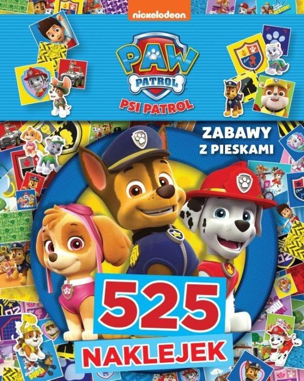 Psi Patrol 525 naklejek Zabawy z pieskami