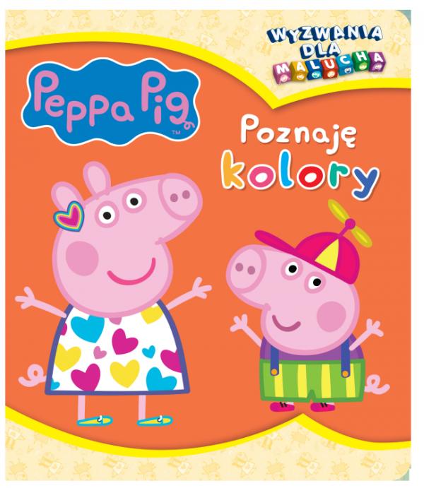 Świnka Peppa Wyzwania dla malucha 3 Poznaję kolory