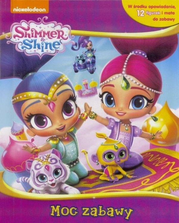 Shimmer i Shine Moc zabawy + mata i 12 figurek