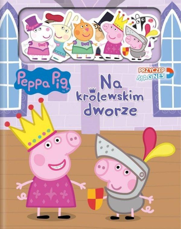 Peppa Przyczep magnes Na królewskim dworze