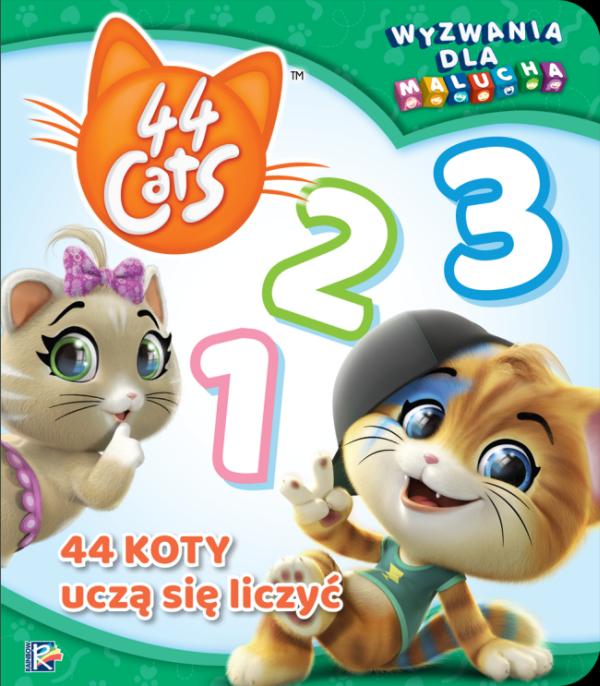 44 koty Wyzwania dla malucha 44 koty uczą się liczyć