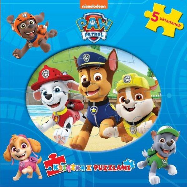 Psi Patrol Książka z puzzlami (Chase)